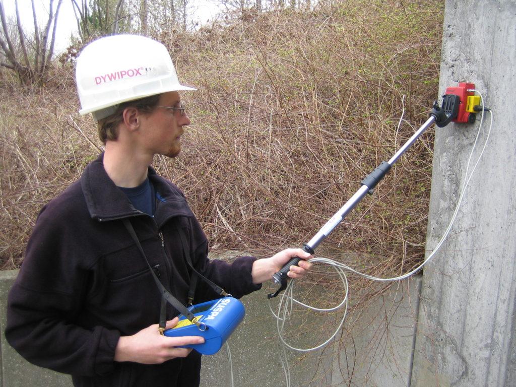 Bauwerksuntersuchung-Betondeckungsmessung