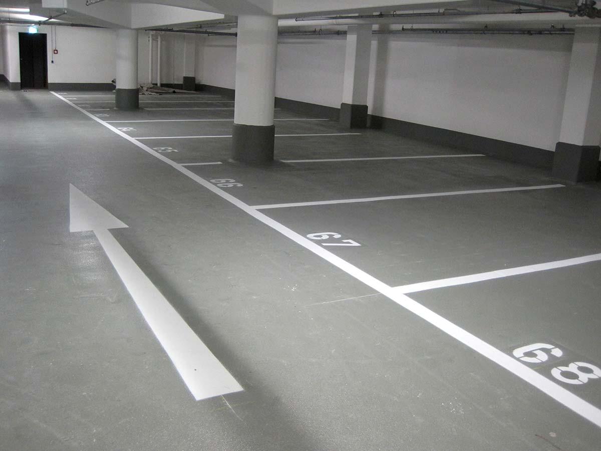 Garagen-Beschichtungen